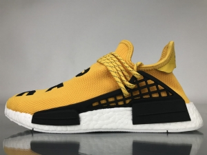 TS菲董 黄色 pharrell Williams x Adidas Originals HU NMD Yellow