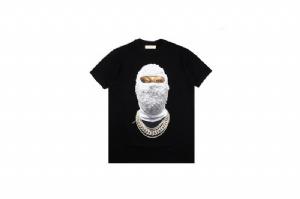 潮牌短袖 迷彩刷漆 Street Wear Black