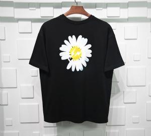 潮牌衣 CL 短袖雏菊黑 street wear Black
