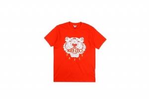潮牌短袖 虎头红 Street Wear Red