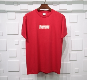 Supreme衣 CL 短袖红色 Supreme Red