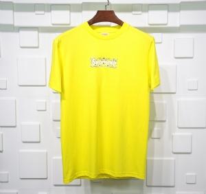 Supreme衣 CL 短袖黄色 Supreme Yellow