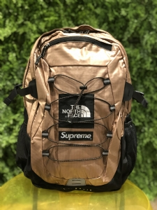 SUP背包 铜色 Supreme X TNF Backpack 18SS Coppery