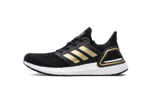 UB6.0 黑金  UB6.0 Adidas Ultra BOOST 20 CONSORTIUM Black/Gold