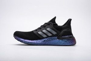 ZS UB6.0 全黑变色龙  UB6.0 Adidas Ultra BOOST 20 CONSORTIUM Black/Purple