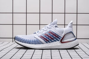 YJ UB6.0 白蓝-4 YJ UB6.0  adidas Ultra BOOST 20 CONSORTIUM White Blue Real Boost