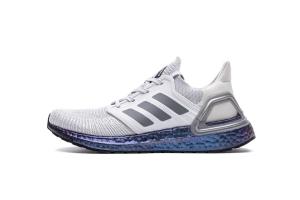 UB6.0 白紫 UB6.0 Adidas Ultra BOOST 20 CONSORTIUM White/Purple