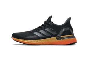 UB PB缓震跑步鞋 黑金 Ultra Boost PB Black Gold