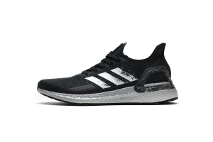 UB PB缓震跑步鞋 黑银 Ultra Boost PB Black Silver