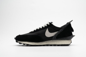 华夫 黑色白勾 Undercover x Nike Dbreak University Black White