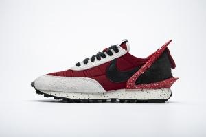华夫 黑红联名 Undercover x Nike Dbreak University Undercover Red