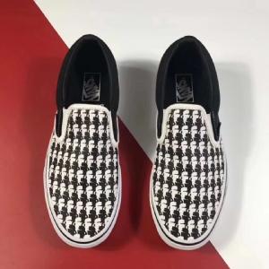 万斯 老佛爷 Vans Old Skool Vans Classic Slip-On Karl Lagerfeld Black White