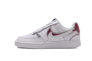 XG空军低帮 爱心板鞋 XG空军低帮 White Noble Red